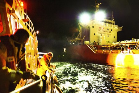 MS Medivac from ship 23 November 2011 Nigel Millard