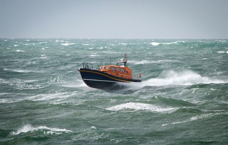 MS Shannon in rough seas Credit Nathan Williams