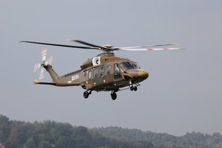 AW1097 first production AW189 flight