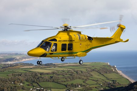 AW1173 AW169 Dorset Somerset Air Ambulance