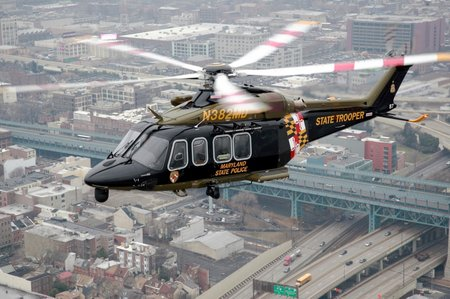 AW139 Maryland State Police Department