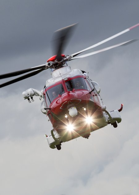 AW1212 AW189 SAR Certification