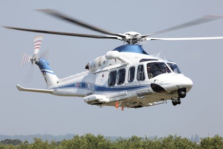 AW1216 AW139 Italian Police delivery