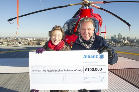 Allianz & Air Ambulance Launch 1