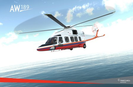 AW189 Bomba Malesia SAR-Firefighting